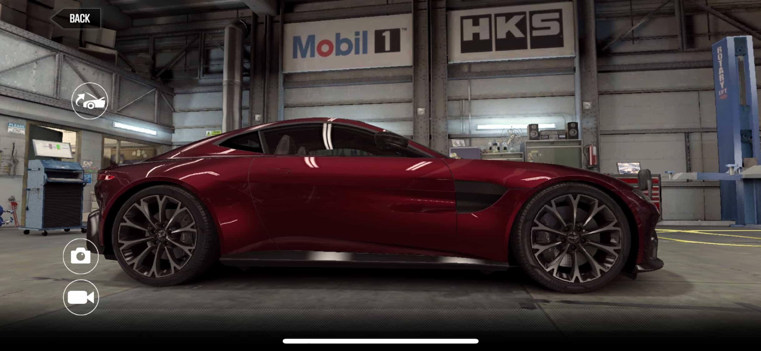 Aston Martin Vantage Csr2 Tune And Shift Pattern