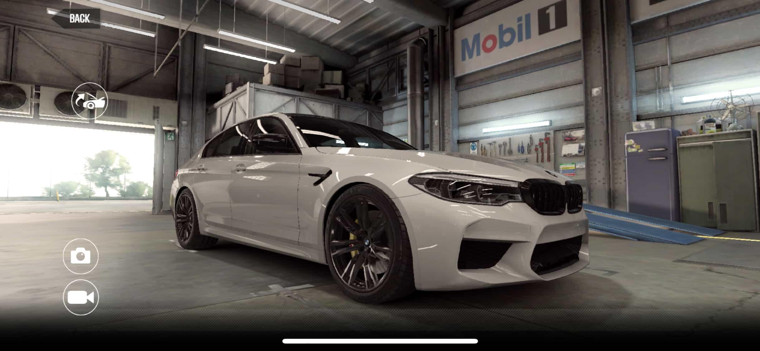 BMW M5 Competition CSR2