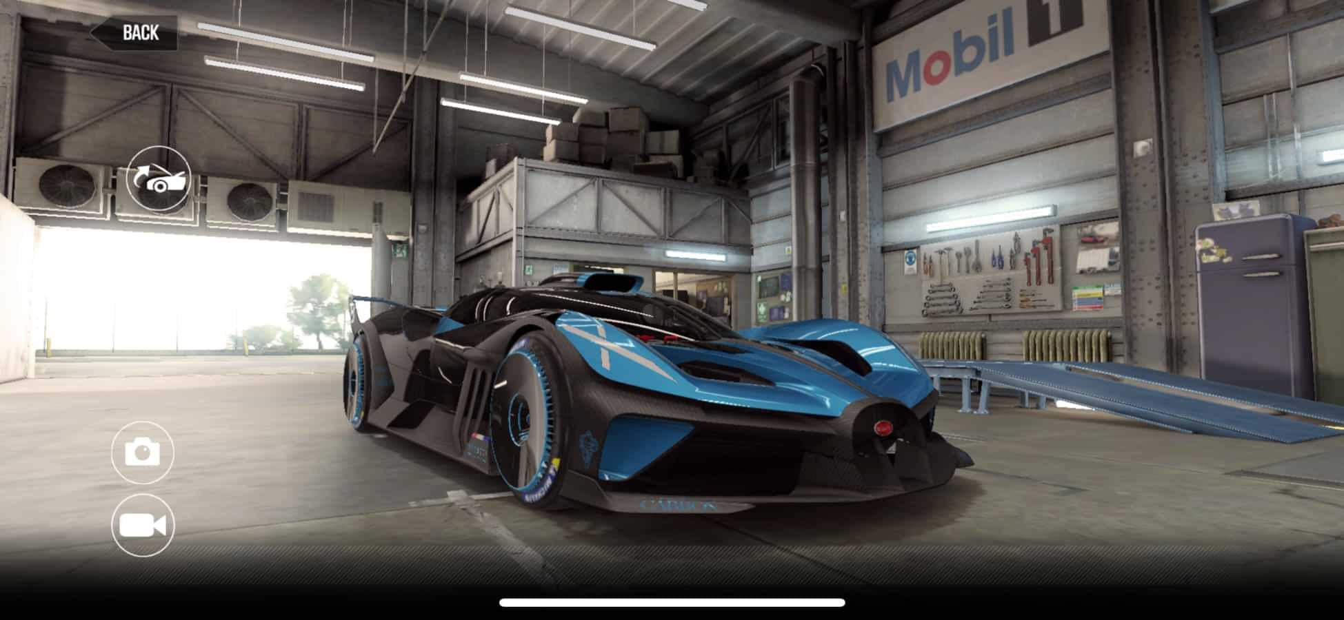 Bugatti Bolide Csr2 Tune And Shift Pattern